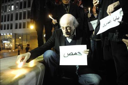 جنبلاط يتهم النظام السوري بالمسؤولية عن إعدام مختطفة السويداء