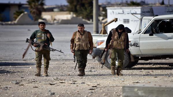 نشرة لجميع الأحداث الميدانية في سوريا ..
