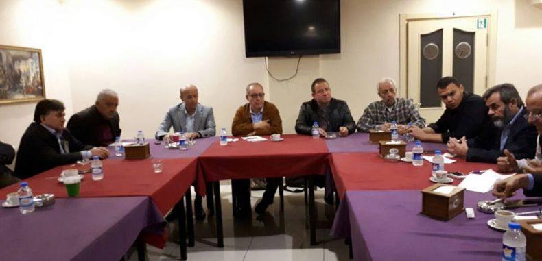 حزبنا يشارك في اللقاء الحواري في اسطنبول