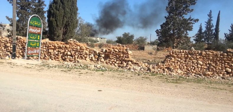موقع اسرائيلي يكشف عدد ضحايا الغارة على قاعدة ايرانية جنوب دمشق