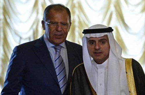 الجبير يشدد على التعاون الوثيق مع روسيا لتوحيد المعارضة السورية