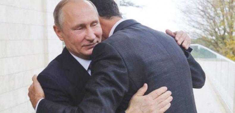 الأسد وترحيبه بالاحتلال الروسي لسورية.؟!!.