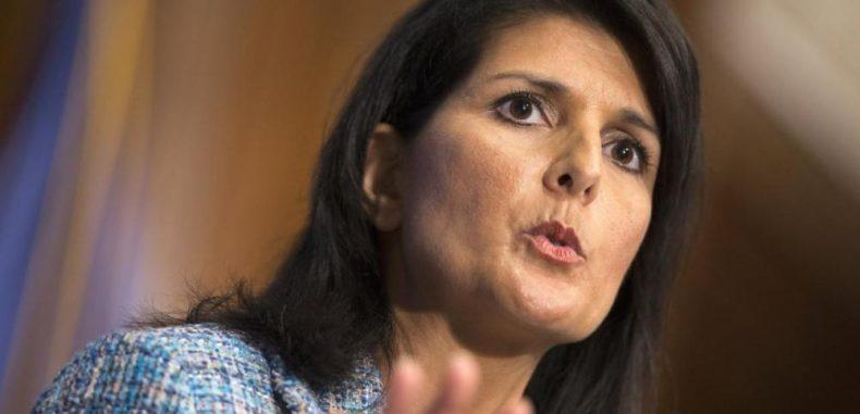 هيلي: أمريكا تعد عقوبات جديدة على روسيا بسبب دعمها سوريا