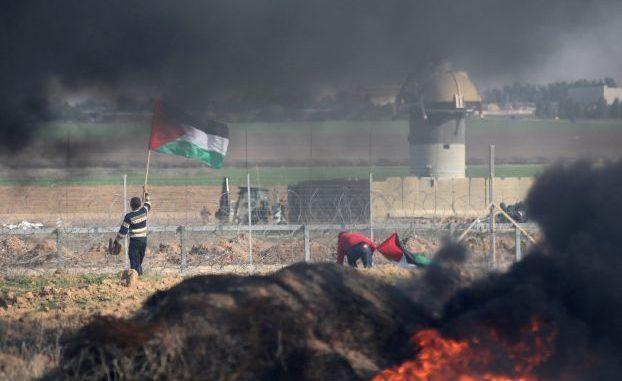جرح 41 فلسطينياً بنيران الجيش الإسرائيلي في غزة