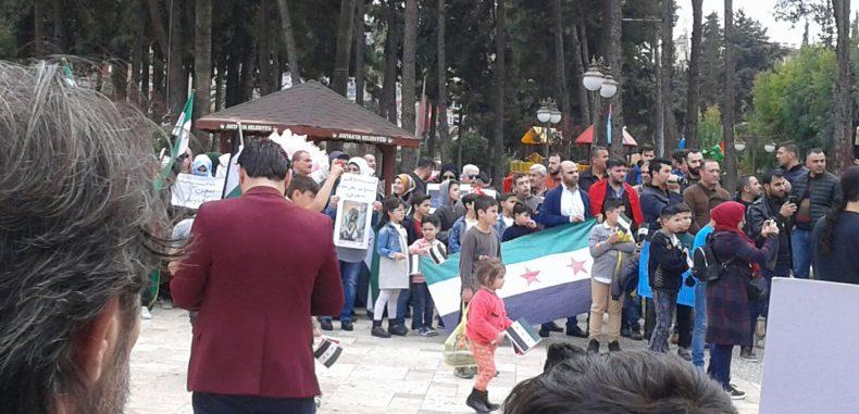 وقفة تضامنية مع الغوطة الشرقية في أنطاكيا – براءة بركات