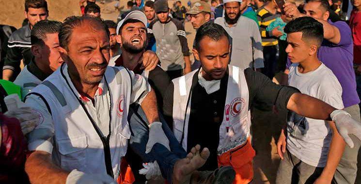 62 شهيداً و3188 مصاباً حصيلة المجزرة الإسرائيلية في غزة منذ الإثنين