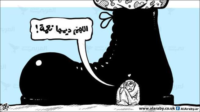 كاريكاتير العدد – عماد حجاج