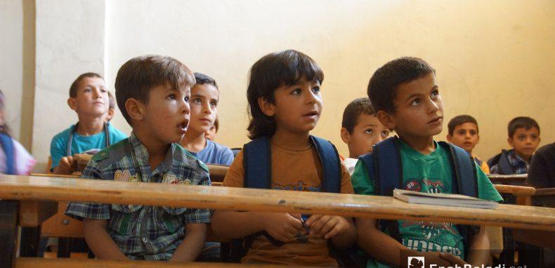 """""""يونيسف"""": أكثر من 350 ألف طفل في إدلب معرضون للخطر"""