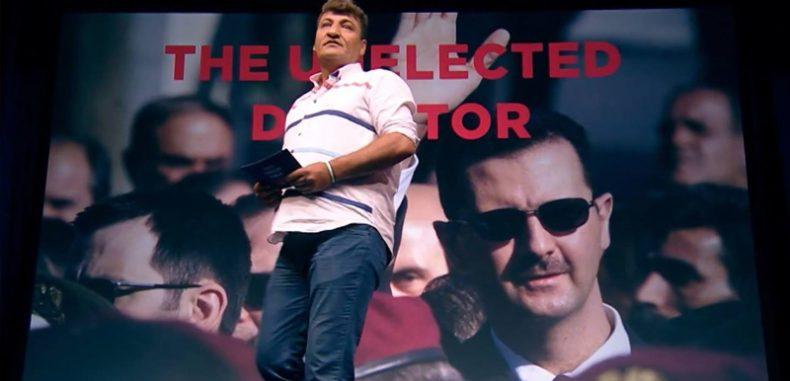 """الممثل البريطاني الخاص لسورية رائد الفارس """"ضمير الثورة"""""""