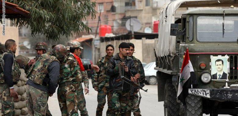 تسريح مئات الضباط في جيش النظام