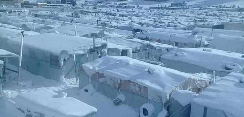 عشر ضحايا حصيلة المنخفض الجوي الأخير في سوريا
