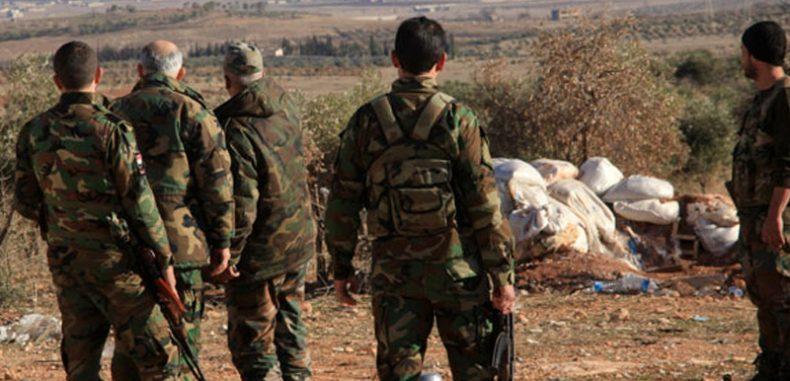 قتل عناصر لقوات الأسد بانفجار لغم بمدينة جاسم بريف درعا