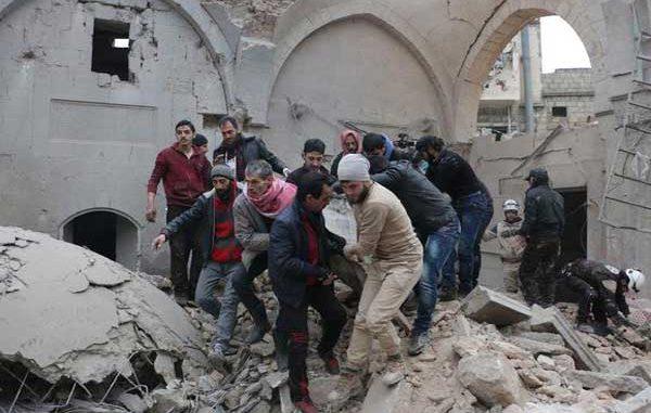 روسيا تقول إنها استهدفت مستودعًا لجبهة النصرةقصف إدلب: تنسيق روسي تركي أم خلاف أم ورقة ضغط ؟!  بهية مارديني