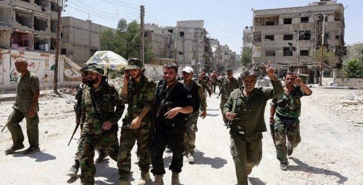 النظام أمام درع الفرات..حشد عسكري على جبهات الباب