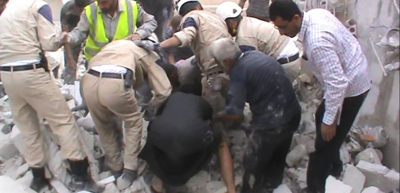 خروج مركز دفاع مدني عن الخدمة بسبب قصف قوات النظام