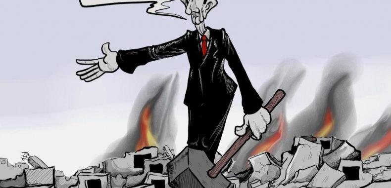 لا أحد يرغب في مساعدة بشار الأسد لاعادة بناء سوريا