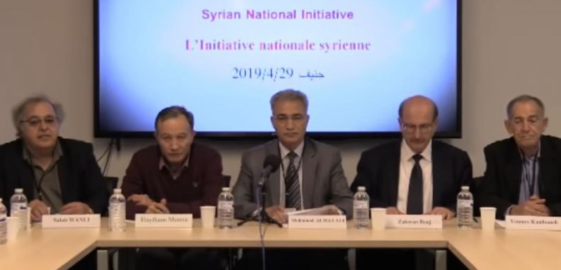 وجهة نظر نقد وجهة نظر نقد مبادرة ماتسمى ( بالوطنية ) السورية: