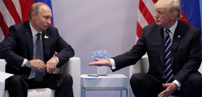 المصافقة المشبوهة والبهلوانية الروسية