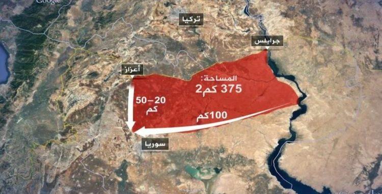 """تعرف على مراحل """"المنطقة الآمنة"""" شرق سوريا المتفق عليها بين أنقرة وواشنطن"""