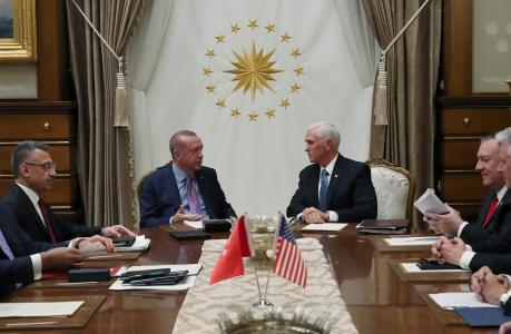 *قراءة في مضامين الاتفاق الاستراتيجي بين أمريكا وتركيا حول عملية نبع السلام*