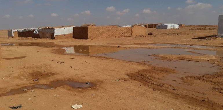 """الهيئة العامة والسياسية"""" في """"الركبان"""" ترفض دخول وفد الأمم المتحدة إلى المخيم"""
