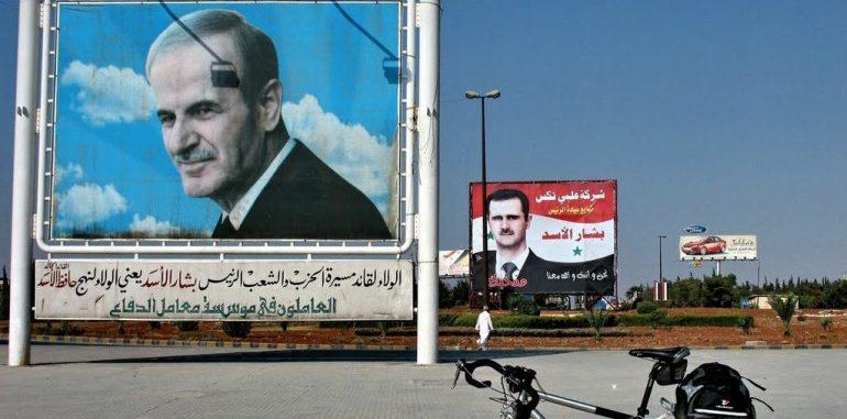 بشار الأسد.. صورة الأب الكاريكاتوريه