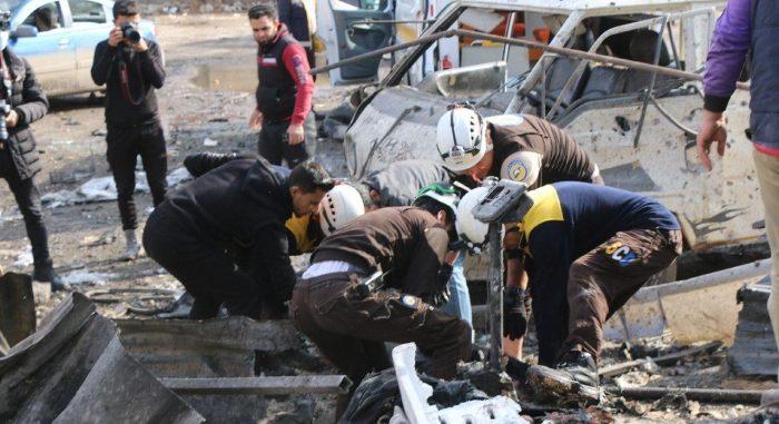 """وقف القصف أقصى أمانيهم.. سكان إدلب يترقبون نتائج """"أستانا 14"""""""
