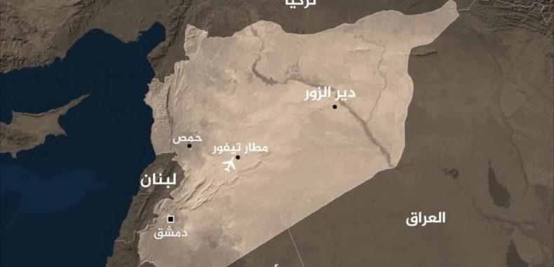 الاحتلال الصهيوني يستهدف مجددا مطار التيفور العسكري