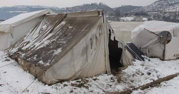 مقتل 167 مواطنا سوريا بسبب البرد بينهم 77 طفلا منذ آذار 2011