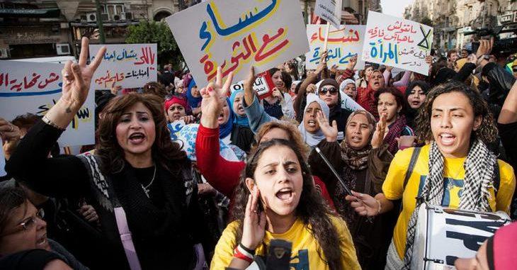 دور المرأة في ثورات الربيع العربي