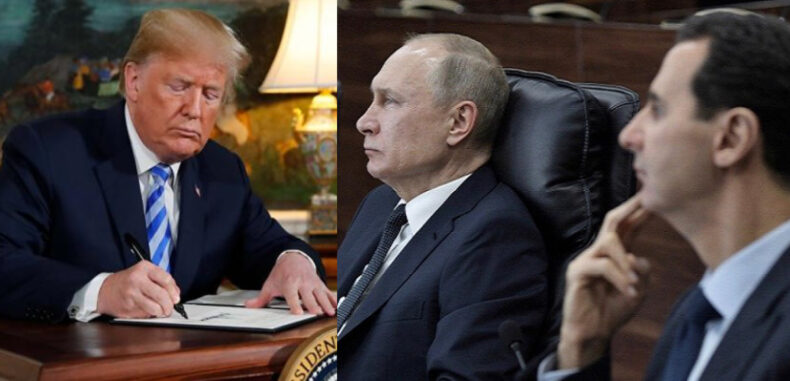 واشنطن تعاقب دمشق وعينها على موسكو