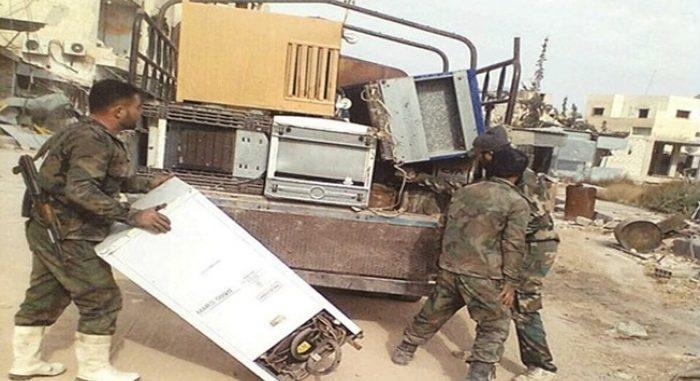 خلاف على المسروقات.. اشتباكات بين عناصر الدفاع الوطني بالقامشلي