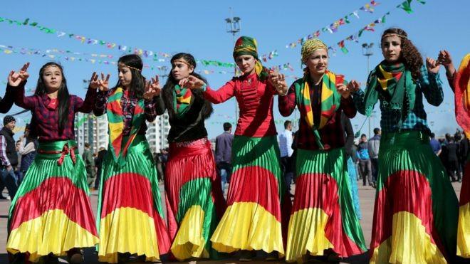 """""""النيروز والأحزاب الكردية"""" ضمن أيام الثورة السورية"""