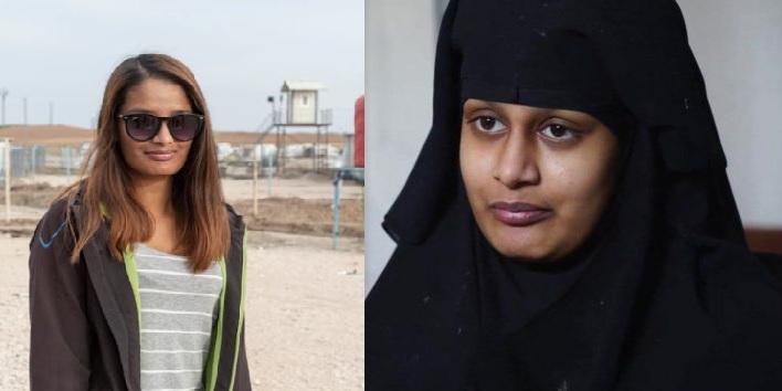 """""""عرائس داعش"""" وقد خلعن الحجاب من أجل سوق العمل!"""