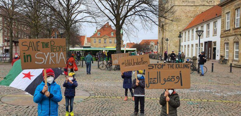 نشاط مميز باحتفالية إحياء ذكرى الثورة في ألمانيا